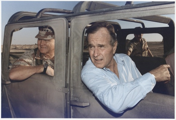 lossy-page1-800px-President_Bush_rides_in_a_HUMVEE_with_General_H._Norman_Schwarzkopf_during_his_visit_with_troops_in_Saudi_Arabia_on..._-_NARA_-_186424.tif